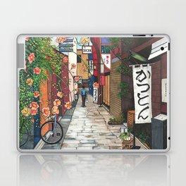 Flowers in an Alley Laptop & iPad Skin