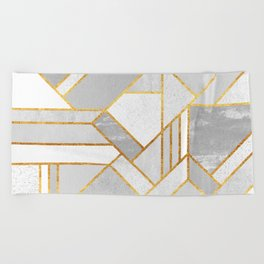 Gold City Beach Towel
