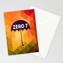 Zero 7 Poster - Sia Furler Mozez Jose Gonzalez Umbrella Print Rain Stationery Cards