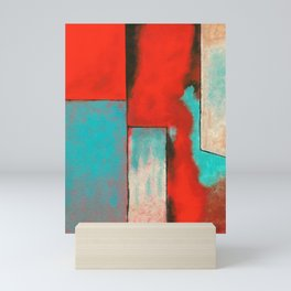 The Corners of My Mind, Abstract Painting Mini Art Print