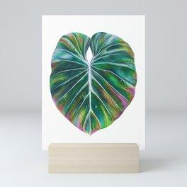 Rainbow Leaf Mini Art Print
