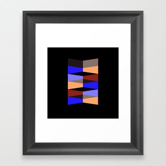 Aronde Pattern Framed Art Print