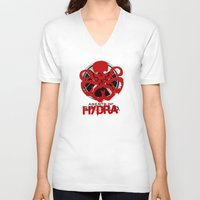 agents of shield V-neck T-shirts featuring Agents Of Hydra by monsieurgordon
