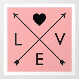 The Love II Art Print