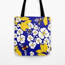 Bumbly Bees with Backbacks Tote Bag