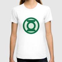 green lantern T-shirts featuring Green Lantern by DeBUM