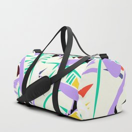 Memphis banana leaves Duffle Bag