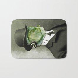Bowler cabbage Bath Mat