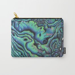 The Showstopper - NZ Paua Carry-All Pouch
