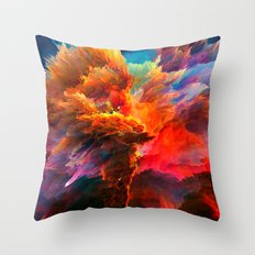 Mákis Throw Pillow