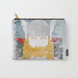 God of thunder grunge superhero Carry-All Pouch