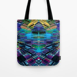 Cyber dimension Tote Bag