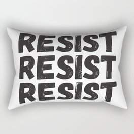 Resist Resist Resist Rectangular Pillow