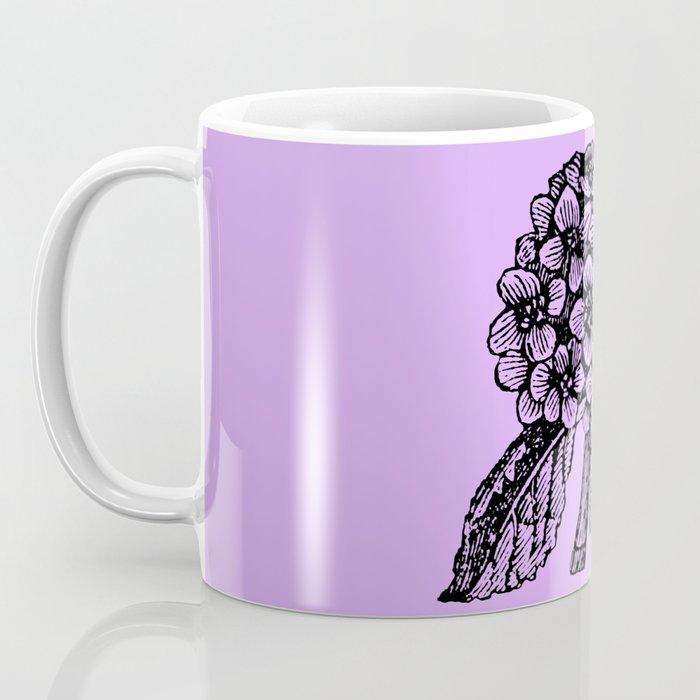 Lavender Hydrangea Coffee Mug