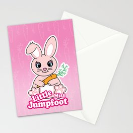 Little Miss Jumpfoot Stationery Cards