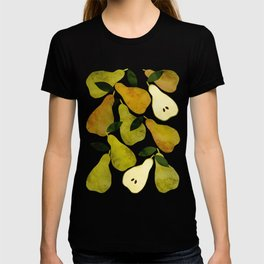 mediterranean pears watercolor T-shirt