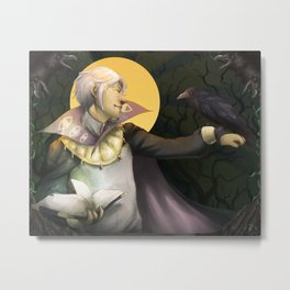 Fire Emblem Awakening: Friend of Ravens Metal Print