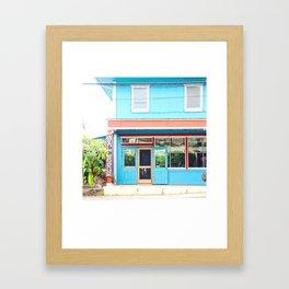 Big Island Blues Framed Art Print