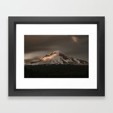 Wy'East Framed Art Print