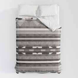 DG Aztec No.2 Monotone Comforters