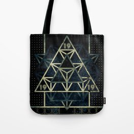 Sacred Geometry for your daily life - METATRON MATRIX Tote Bag
