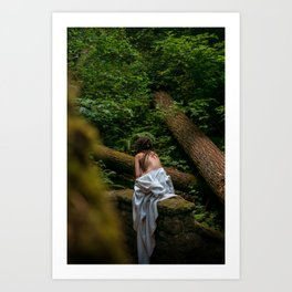 A Faerie on Her Own Art Print
