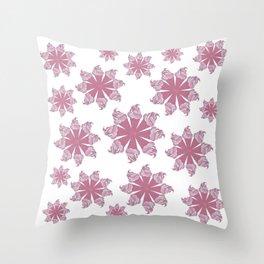 Ice Cream Cone Swirls Throw Pillow