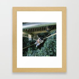 Almost Killed my Wife in Costa Rican Jungles Framed Art Print