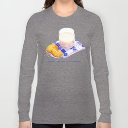 Milk & Cookies Long Sleeve T-shirt