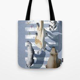zebra crossing #1 Tote Bag