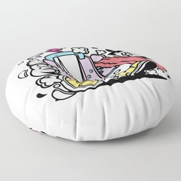 Slider Toyfor animated characters comics and pop culture lovers Floor Pillow