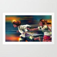 Spritied Art Print