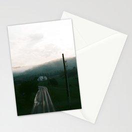 Foggy Sunset on Film Stationery Cards