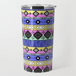 Ornament in the style of hippies 1. Travel Mug