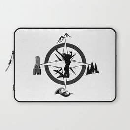 Adventure Bod - Logo Laptop Sleeve