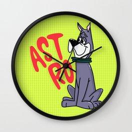 Astro the Dog Wall Clock