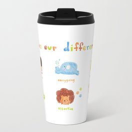 Love our differences Travel Mug