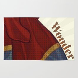 Woman of Wonder Rug