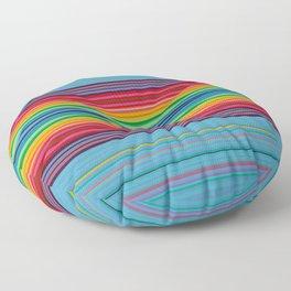 """""""Ice Cream Dream""""  Op art Floor Pillow"""
