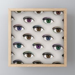 I ONLY HAVE EYES FOR YOU Framed Mini Art Print