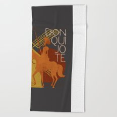 Books Collection: Don Quixote Beach Towel