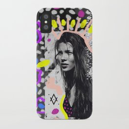 Kate Moss Tribal Far East iPhone Case