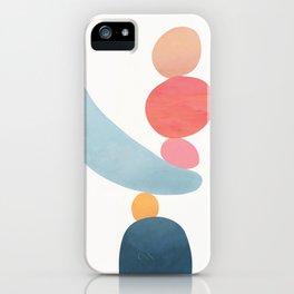 Balancing Stones 21 iPhone Case