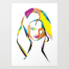 Stana Katic  Art Print