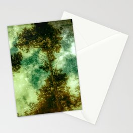 Forest Memories In Green Stationery Cards
