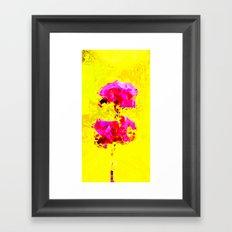 Flower Mirage  Framed Art Print