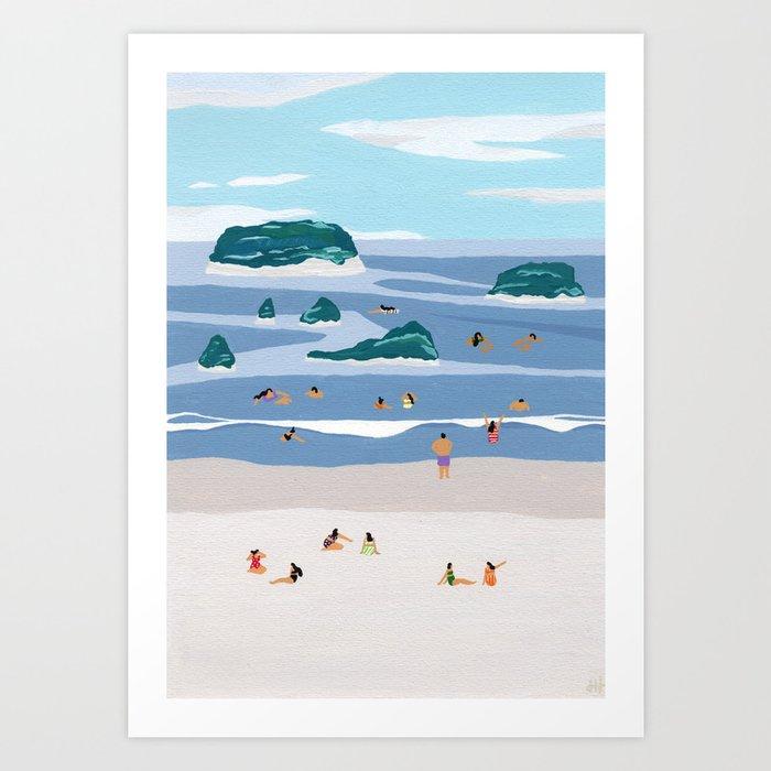 Islands Horizons Art Print