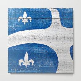 Vive le Quebec! Metal Print