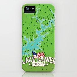Lake Lanier Georgia iPhone Case