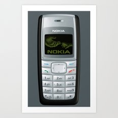 NOKIA 1110 - for IPhone - Art Print